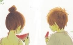 夏天情侣头像动漫