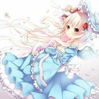 唯美梦幻动漫图片头像女生