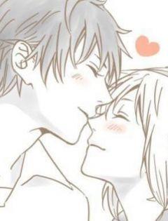简单情侣手绘图片
