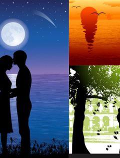 情侣浪漫图片大全带字