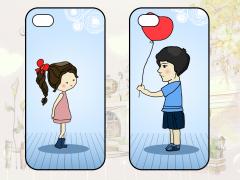 情侣手机壳图片