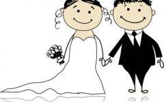 卡通简笔情侣图片