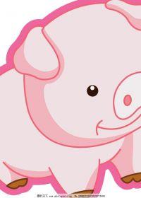 动漫猪头像可爱图片