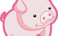 猪猪卡通图片可爱图片