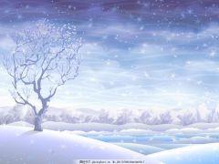 下雪浪漫图片唯美