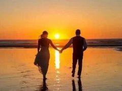 海边情侣图片浪漫图片
