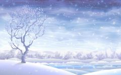 下雪浪漫图片