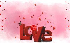 甜蜜爱情图片带字图片
