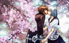 高清动漫接吻浪漫图片