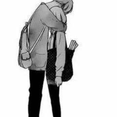 一个男孩一个是女孩的微信情侣头像