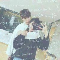 带有数学公式情侣头像