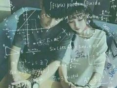 情侣头像数学公式清新