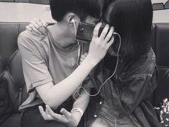 韩系两人情侣头像两张