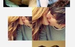 qq头像情侣快接吻头像