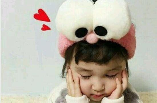 情侣头像小孩子可爱的