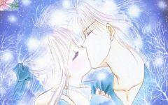 情侣头像接吻霸气动漫