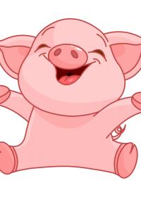 卡通小猪图片大全可爱图片