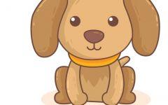 卡通狗头像可爱图片