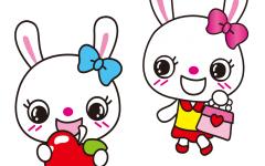 小白兔可爱图片大全