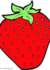 草莓图片卡通可爱图片