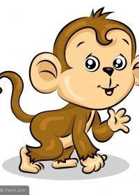 猴子图片卡通可爱图片
