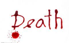 死亡图片带字唯美图片