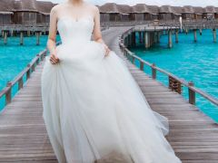 唯美婚纱照图片