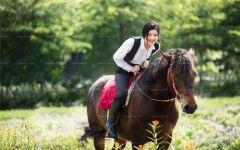 骑马照片唯美图片大全集