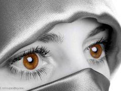 眼睛的照片唯美图片
