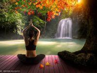 森林瑜伽唯美意境图片大全