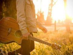 好看的吉他图片唯美