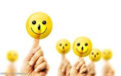乐观微笑的图片唯美