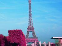 巴黎铁塔唯美风景图片