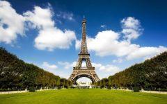 巴黎铁塔图片唯美