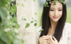 唯美美女图片清新淡雅