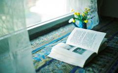 读书唯美意境图片