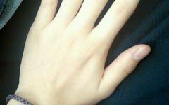 女生的手好看图片唯美