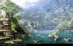 古代风景图片唯美