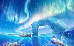 动漫鲸鱼唯美图片