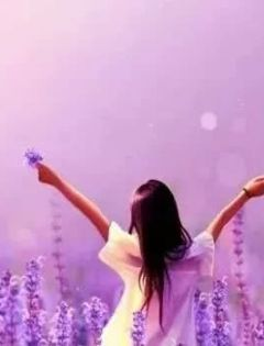 紫色唯美爱情浪漫图片大全