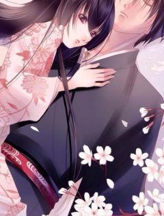 二次元情侣接吻浪漫图片唯美头像