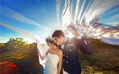唯美婚纱照图片浪漫图片
