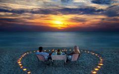 情侣海边浪漫图片