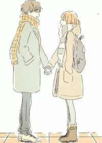 两个人的爱情图片动漫