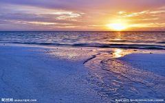 海边夕阳爱情图片