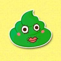 绿色可爱简单动漫头像
