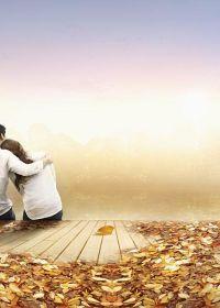 唯美爱情图片两个人
