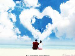 爱心情侣图片