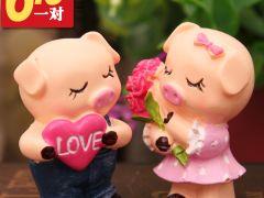 情侣可爱小猪图片