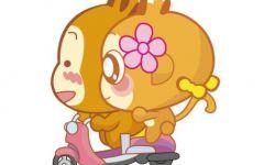 猴子情侣动漫图片大全可爱卡通